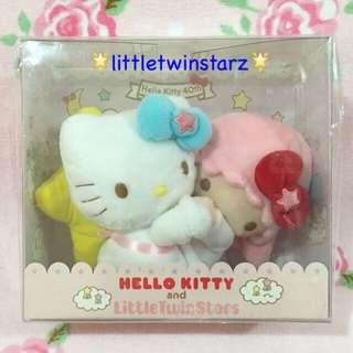 Sanrio Hello Kitty X Little Twin Stars 40th Anniversary Plush Box Set