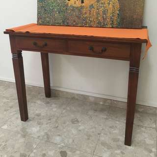 Solid Teak Rectangle Table