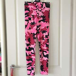 Black Milk Pink Cammo Leggings