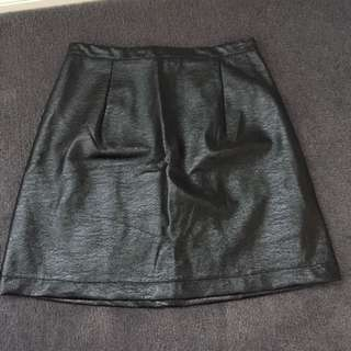 Black Mink Pink Shimmer Skirt