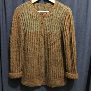 古著復古 針織 毛衣外套