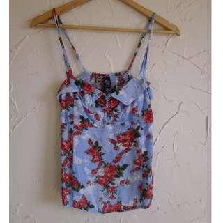 BILLABONG Size 10 Floral Cami