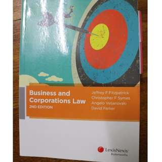 Business and Corporations Law - 2nd Edition