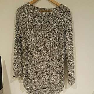 Paper Scissorrs knit dress