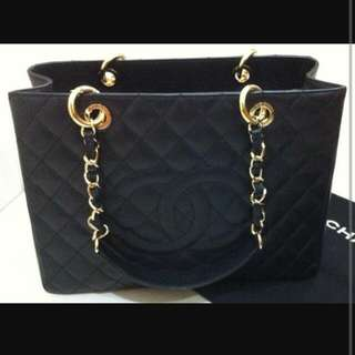 100% Authentic Chanel GST Shopping Tote