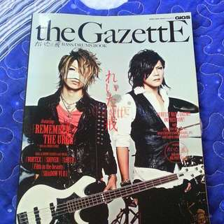 the GazettE Reita&Kai (Bass/Drums Book)