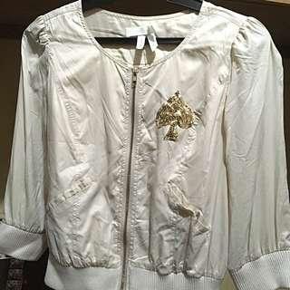 Stylish Jacket With Sequins