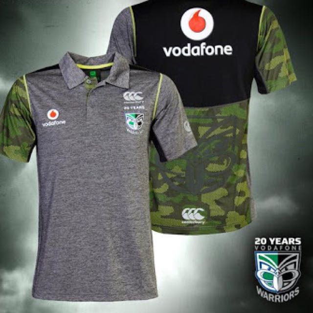 2015 Warriors Training Polo Top