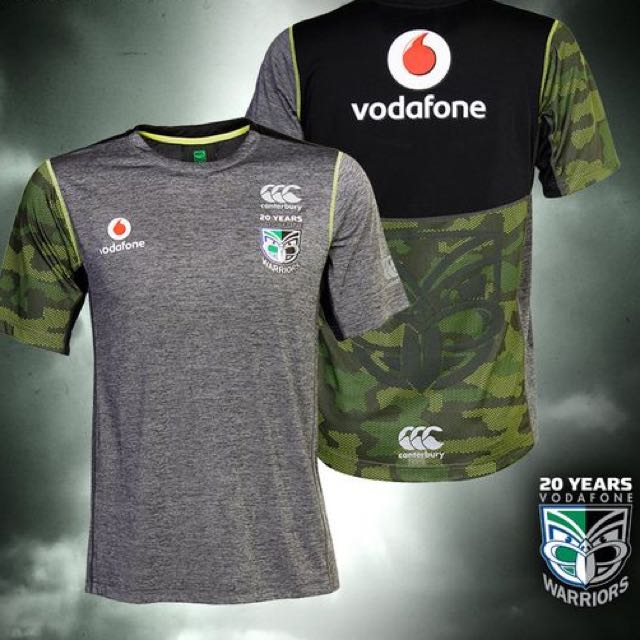 2015 Warriors Training Top