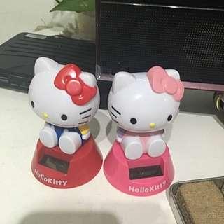 日本購回Kitty搖頭公仔