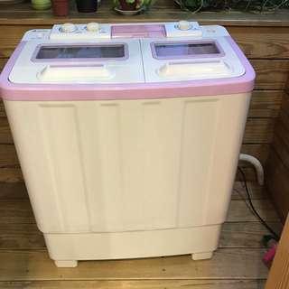 晶華牌8kg 雙槽洗衣機