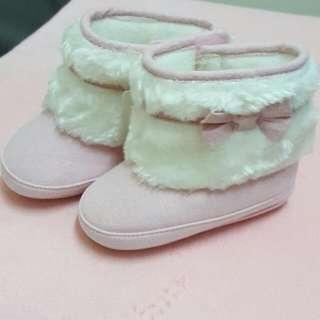 粉紅短靴(含運)