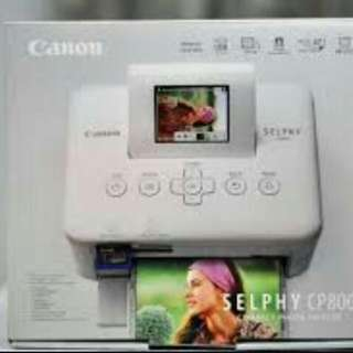 NEW Canon selphy cp800