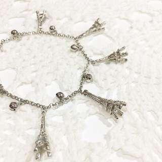 Eiffel Charm Bracelet