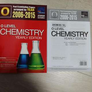 O Level Pure Chemistry Yearly Edition TYS 2006-2015