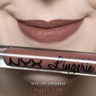 [INSTOCKS] USA Nyx Lip Lingerie Ruffle Trim