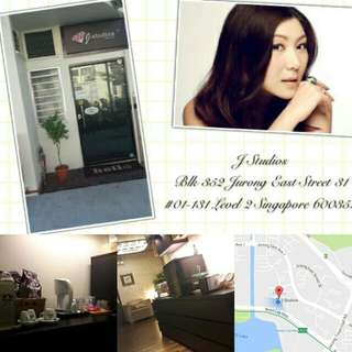 Jurong East Neigborhood Beauty Salon, IPL Hair Removal, RF Radio Frequency, Slimming, Anti-Aging, Oxygen Facial, Makeup, Beauty Treatment Services at J Studios