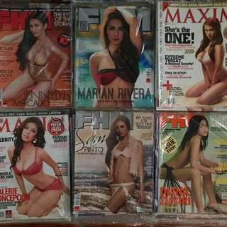 Maxim And Fhm Magazine