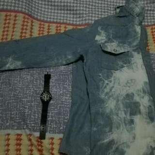Thin Denim Long sleeves