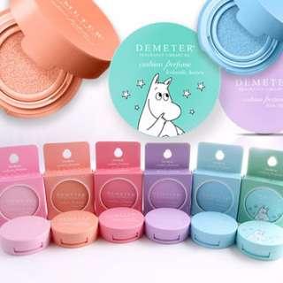 韓國Demeter X 嚕嚕米-聯名限定款氣墊香水 嚕嚕米氣墊香水 多種香味可選擇