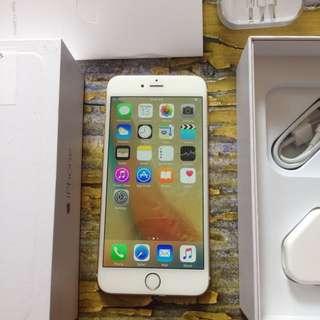 iPhone 6 Plus 64GB GOLD, 6+, Fullset Dan FU. No Minus