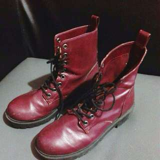 H&M Maroon Boots