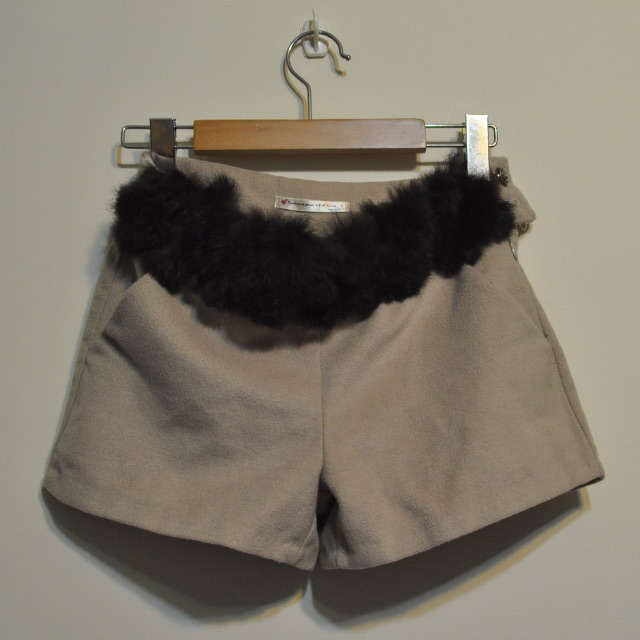 超質感短褲