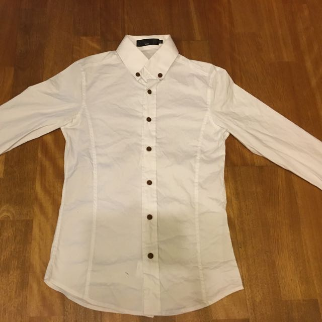 韓版白襯衫