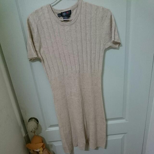 羊毛 古著 毛衣 洋裝