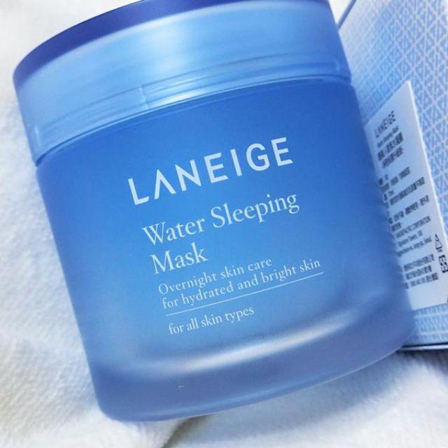 正品 韓國LANEIGE 睡美人香氛水凝膜 淨亮保濕升級版70ml 保濕面膜 保濕晚安面膜 晚安面膜