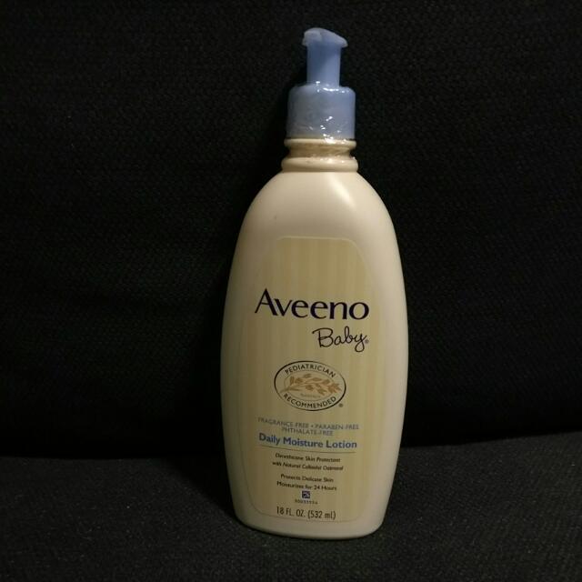 [New & Unopened] Aveeno Baby Daily Moisture Lotion 18 Fl. Oz (532ml)