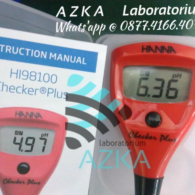Azka Laboratorium Ph Meter TDS Meter Water Analysis