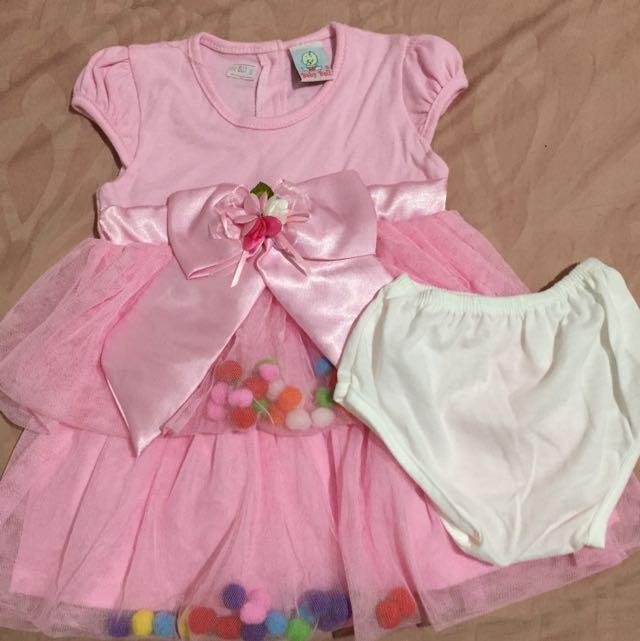 Baju Bayi Dress Bayi