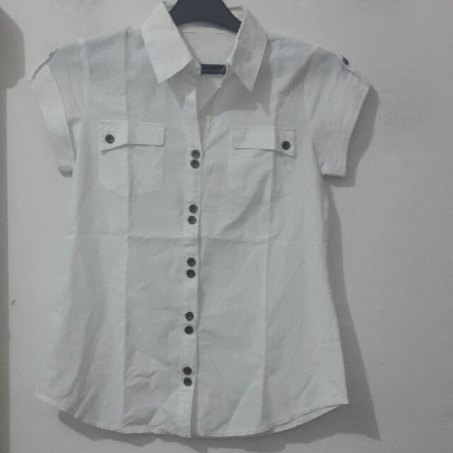Benhill Hem White - Baju Kerja, Kuliah