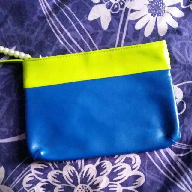 Blue And Green Bag