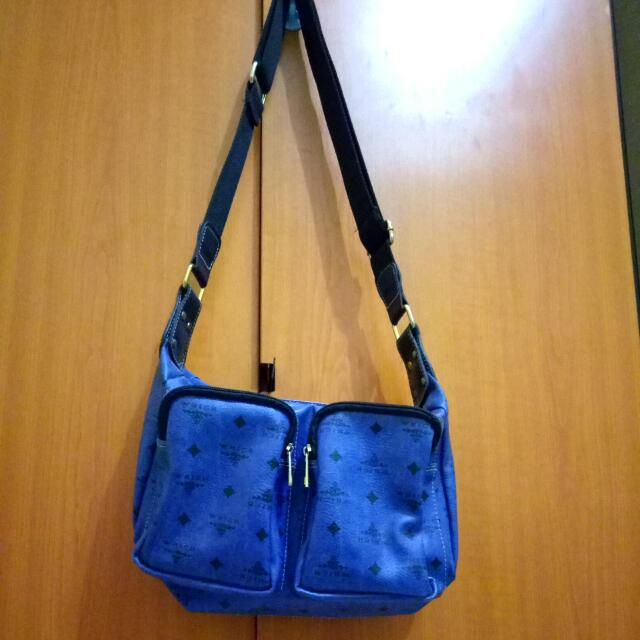Blue Fashion Bag