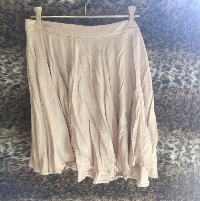 Bone Coloured Supre Skirt