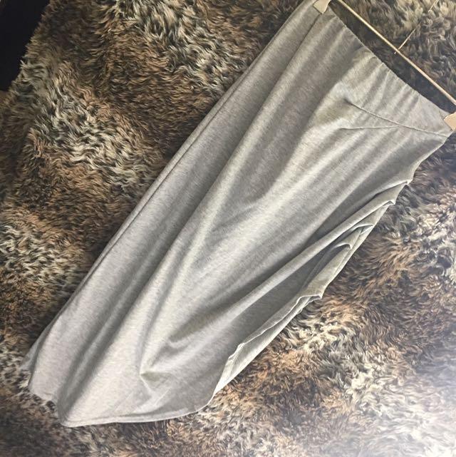 Brand New Balouke Side Split Grey Skirt