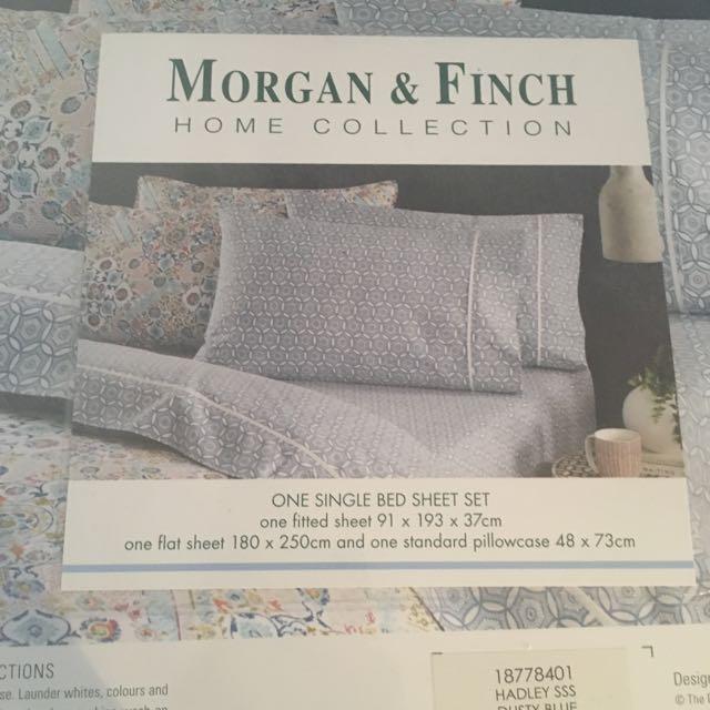 Brand New Morgan&Finch Single Befsheets