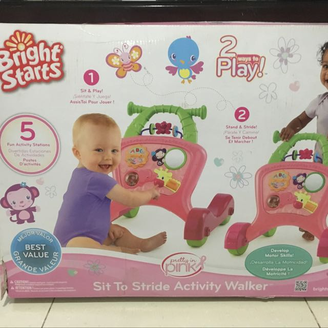 Bright Star Baby Walker