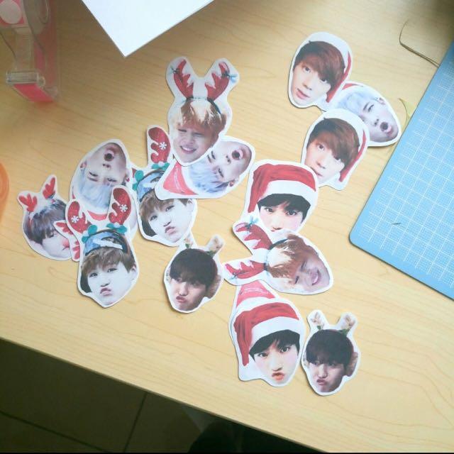 BTS Christmas Gift Set