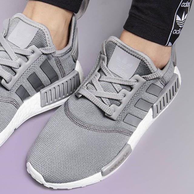 Adidas NMD R1 matte silver