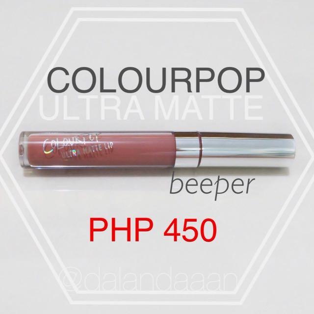 Colourpop Ultra Matte Beeper