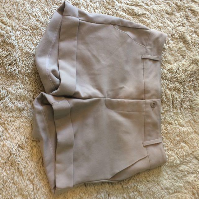 Cream/ Nude Shorts