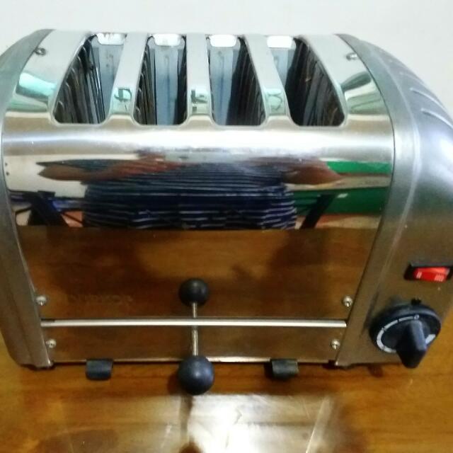 Dualit Durkop 4-slice Toaster