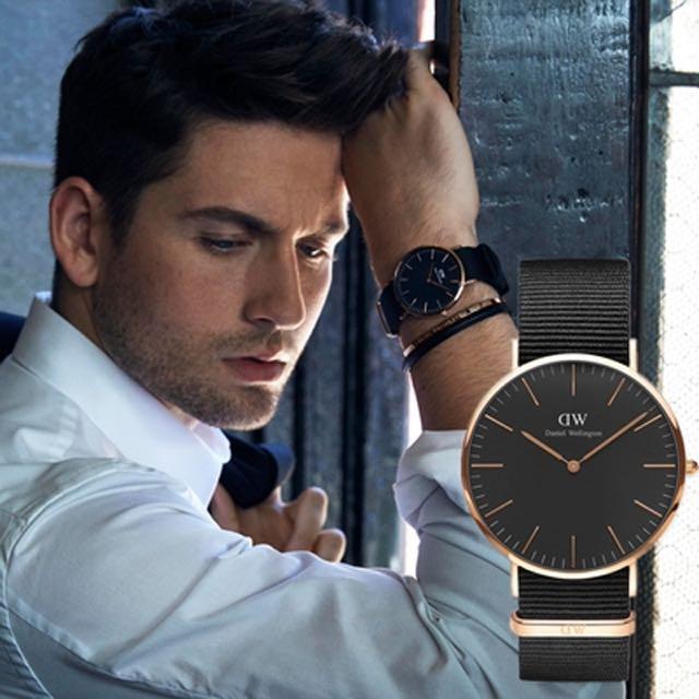 DW錶 時尚黑 正品代購