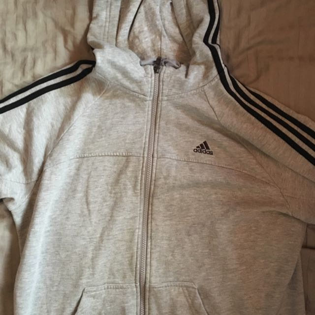 Grey Adidas Jacket