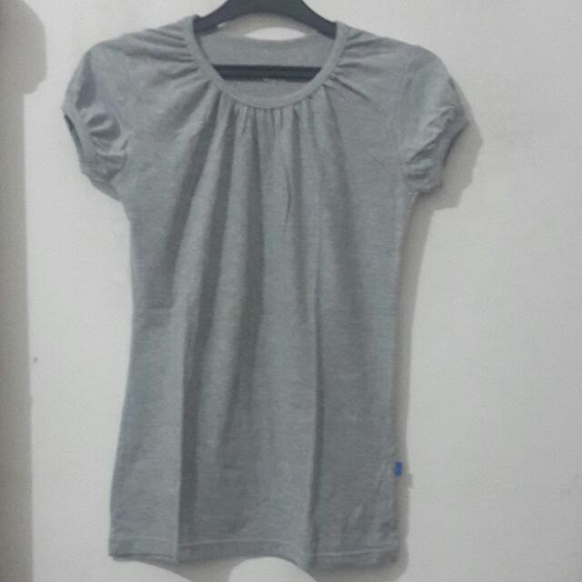 Harmonie Collection Cinderella Shirt - Grey