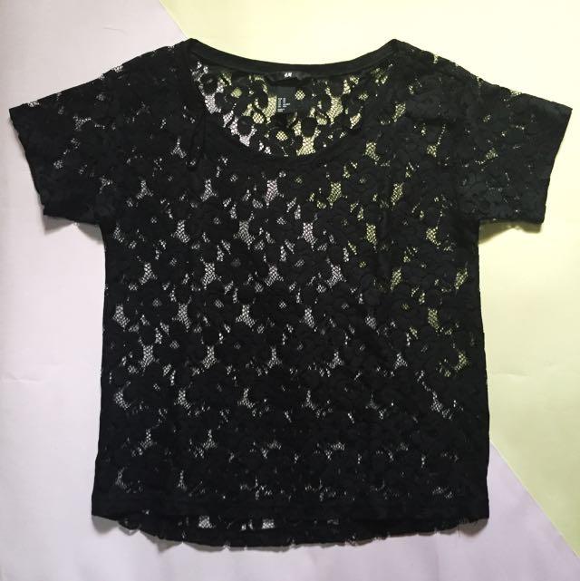 H&M - black top