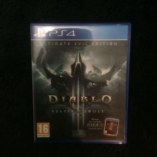 Kaset PS4 Diablo Ripper Of Souls